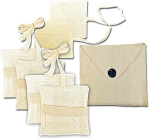 Our BlissCircuits™ are entirely hand crafted in raw silk and cotton for optimal energy flow. Comes complete in a handy carrying pouch. Note: Due to the natural materials used, appearance may vary from batch to batch